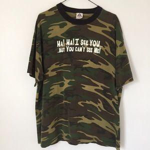Camo Graphic T-Shirt - XL